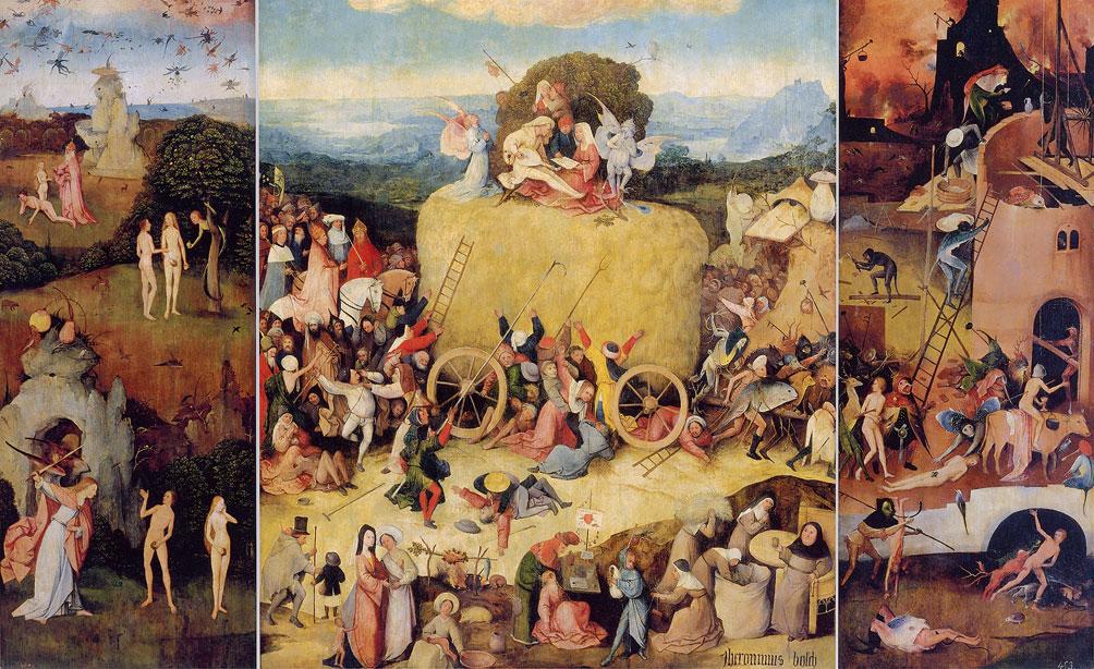 Trittico del carro di fieno (1510-1516)
