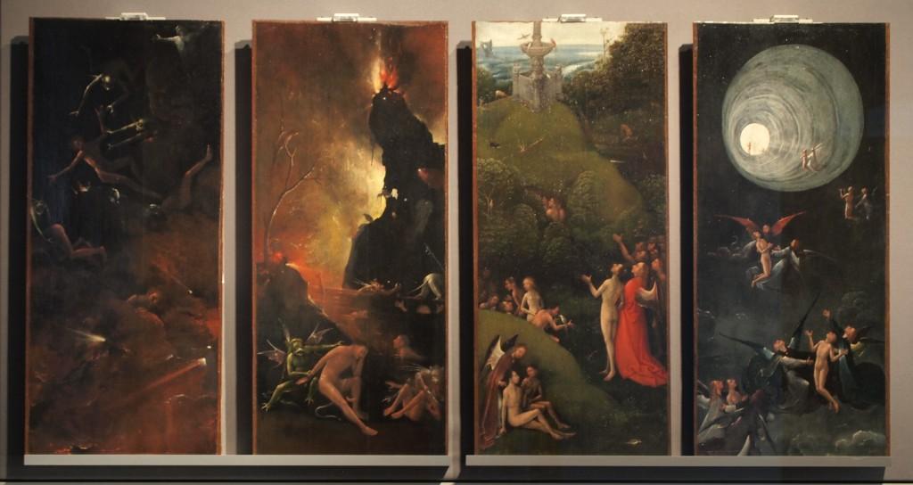 Le quattro visioni dell'aldilà (150-1504) di Bosch è conservato a Venezia